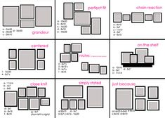 guide to hanging photos