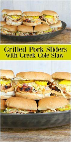 Slaw Recipes, Grilling Recipes, Pork Recipes, Slow Cooker Recipes, Cooking Recipes, Healthy Recipes, Chard Recipes, Slider Recipes, Sandwich Recipes