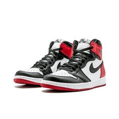 competitive price 3db96 a60f1 Air Jordan 1 Retro High OG  Black Toe  2016