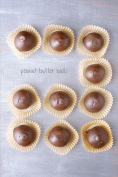 WOAH. Peanut Butter Balls!