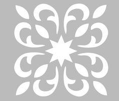 Ce pochoir adhésif repositionnable, de fabrication artisanale française dans une matière PVC grise souple, résistante et lavable, résiste à de multiples utilisations, s'adapte à la plupart des supports à peindre (châssis toilé, murs, tissus, bois, verre…utilisez une peinture adaptée à votre support). En savoir plus Le Paper Cutting Patterns, Stencil Patterns, Stencil Designs, Motif Art Deco, Art Deco Pattern, Stencils, Stencil Diy, Motif Arabesque, Visiting Card Design