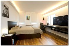 100+ Modern Wall Mounted Desk Ideas