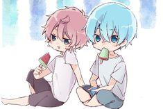 Anime Chibi, Anime Art, Otaku, Art Drawings, Kawaii, Prince, Strawberry, Twitter, Boys