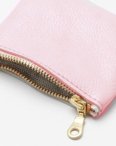 pink change purse