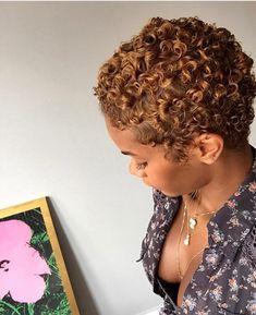 Msthunni curly hair 3a 3b honey Carmel hair