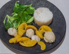 Photo de recette de saint jacques aux mandarines Kilomètre-0, blog de cuisine…