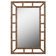 Kenroy Home Aviary 26 in. x 40 in. Bronze Framed Wall Mirror