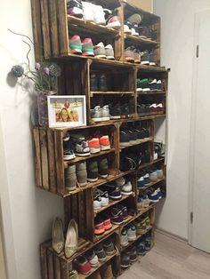Schuhschrank ähnliche Projekte und Ideen wie im Bild vorgestellt findest du auch in unserem Magazin