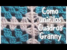 Como unir cuadros Granny en gancho, muy fácil y rápido #57 - YouTube