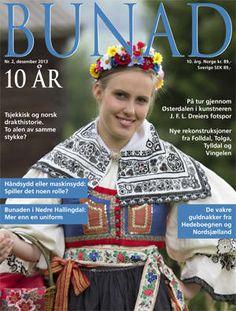 Website for the Norwegian magazine Bunad. Folk costumes in Scandinavia.