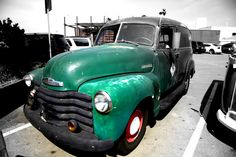 Green Car Antique Cars, Antiques, Vehicles, Green, Antiquities, Rolling Stock, Antique, Vintage Cars, Vehicle