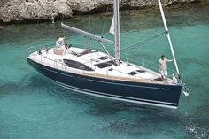 #Yacht of the week. Sun Odyssey 50DS. Take a look at this elegant sailboat https://aboattime.com/en/yacht-sun-odyssey-50ds
