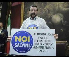 il popolo del blog,: io terrona del nord voto m5s salvini va a lavurà b...