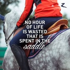 Spend hours and hours in the saddle  | 13 Quotes: What Horse Riding Teaches You About Life