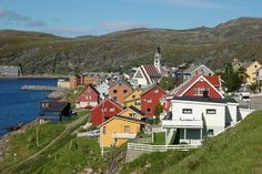 Hammerfest, Norway, the northern most city in the world.