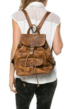 Jollie Cow Leather Backpack