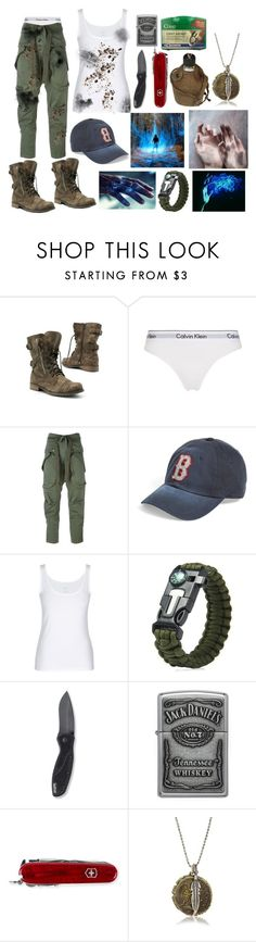 """""""Lost In The Jungle OC"""" by sammywinchester05 ❤ liked on Polyvore featuring Converse, Calvin Klein Underwear, Faith Connexion, American Needle, Kershaw, Zippo, Victorinox Swiss Army and M.Cohen Handmade Designs"""