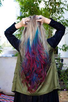 Beginning Boutique - Hair Dip Dyed