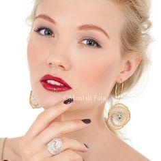 Orecchini e anello http://www.manidifata.it/gioielli-crea-il-tuo-bijoux-c8gio-html.html