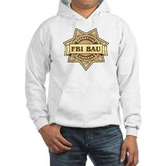 Criminal Minds Hoodie #CriminalMinds, FBI #BAU, #Forensics ADD TEAM NAME, pocket designs with names, 100's of products phone cases more Search CSI or BAU  in my Profile