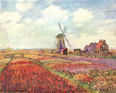 Claude Monet - Tulipes des Pays-Bas