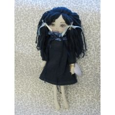 A beautiful collection of handmade creations at very low cost. Fabric Dolls, Blue Dresses, Knitwear, Goth, Eye, Handmade, Inspiration, Beautiful, Fashion