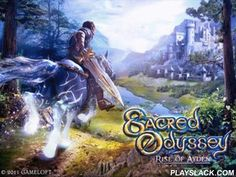 Sacred Odyssey: Rise Of Ayden HD  Android Game - playslack.com , Sacred Odyssey: Rise of Ayden HD - a youthful conqueror Ayden, was chosen  by god to recovery the empire from the calamity. You need to accumulate 4 environments of Graal to collect apparitional qualities and to overcome the God of illumination. unravel problems, move on a stallion, combat to a superb amount of foes, open brand-new armament, prevail the properity over the bad!