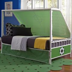 Free Shipping. Buy Goal Keeper Daybed, White/Green at Walmart.com