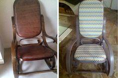 Un rocking-chair relooké