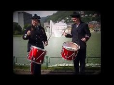 """Sandviksmarsjen"" - Buekorps / Bergen - YouTube"