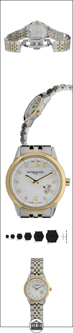 Raymond Weil Freelancer Ladies Multicoloured Two Tone Date Watch 5670-STP-05985  ✿ Relojes para hombre - (Lujo) ✿