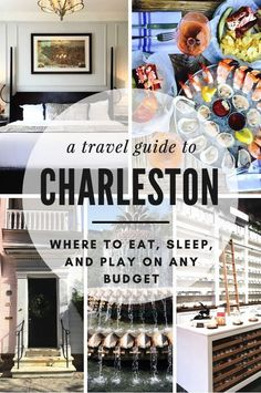 After a long-awaited time, we're finally heading down to Charleston to see what all the hype is about! Candy colored houses, cobblestone streets, and all the Southern cooking we've ever dreamed us is what is waiting for us in The Holy City. Use this romantic weekend travel guide to Charleston to figure out where to eat, sleep, and play on any budget!