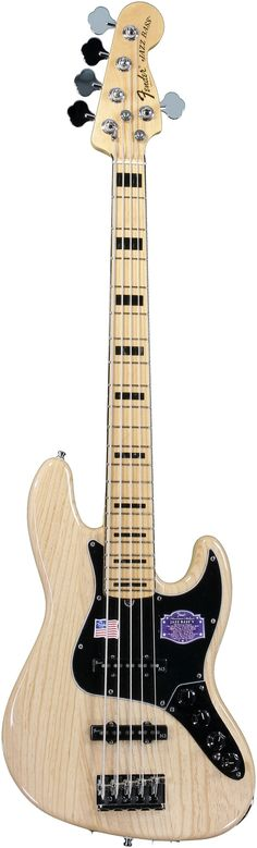 Fender American Deluxe Jazz Bass V (Natural) (Want)