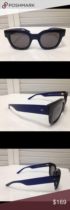 "Versace Black Chic Sunglasses  6.25""L 2""H  0.25""W Versace Black Chic Sunglasses  6.25""L x 2""H x 0.25""W Versace Accessories Sunglasses"