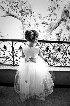 Flower girl dress: Danielle Benicio