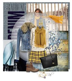 """""""Brighten the blue"""" by pamlcs ❤ liked on Polyvore featuring Alima, MELLOW YELLOW, Alex and Ani, Topshop, ONLY, Steve Madden, Old Navy, MICHAEL Michael Kors, Jose & Maria Barrera and Roial"""