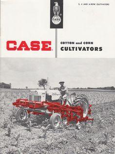 Vintage JI Case Company Cotton & Corn Cultivators Brochure Series R21 R22 700