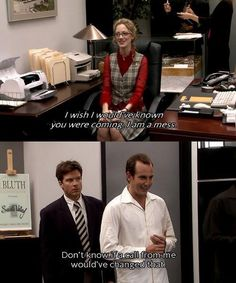 Arrested Development, Gob is the worst haha
