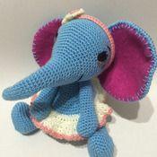 Crochet Pattern Elephant Bluelli Amigurumi Pdf