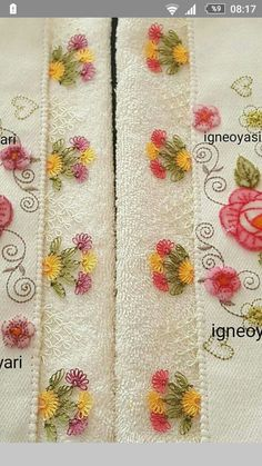 Pfaff, Baby Accessoires, Doodle, Needle Lace, Lace Making, Tatting, Diy And Crafts, Towel, Embroidery