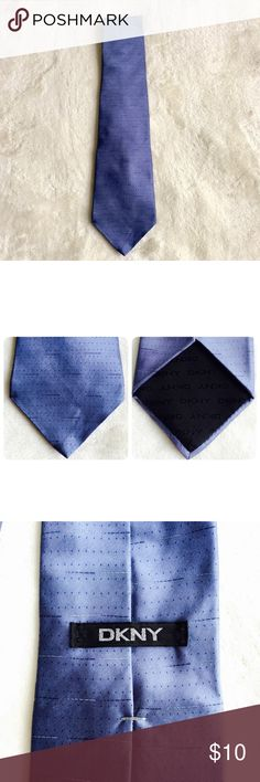 DKNY Men's Tie Pristine condition. No stains nor rips. 100% silk. Made in Mexico. DKNY Accessories Ties