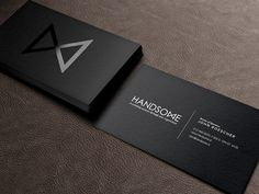 Dribbble - Handsome Cards by Handsome repinned by www.BlickeDeeler.de