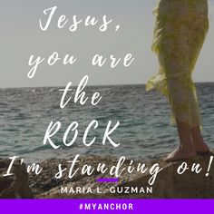 God bless,  I heard this song from Passion, called #MyAnchor and had to share...God, you are the Rock I'm standing on! You are #MyAnchor!   https://youtu.be/fCymt6cZY5w  Many blessings!