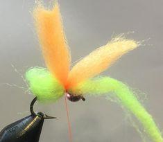 Salmon Steelhead Trout Wet Fly Glow Bug 1 DZN Size 10 Pink