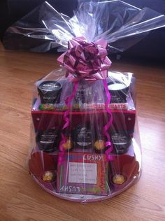 28 best wrap tup gift hampers images on pinterest christmas gift birthday hamper with lush products solutioingenieria Image collections