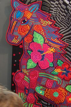 Fumiko Nakayama ...most amazing mix of traditional and contemporary molas I have ever seen