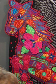 Mola quilt detail 1