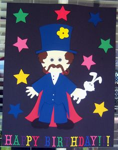 Pin the Wand on the Magician game I made a Kids Birthday party.    Check out my Blog for more info.