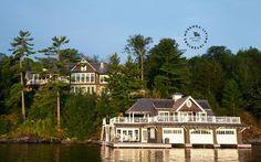 Windover Lake house on Lake Muskoka