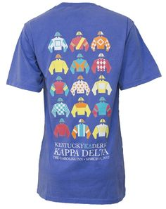 Obsessed with this back! Plus with the other front? I think I found our Derby Days shirts!
